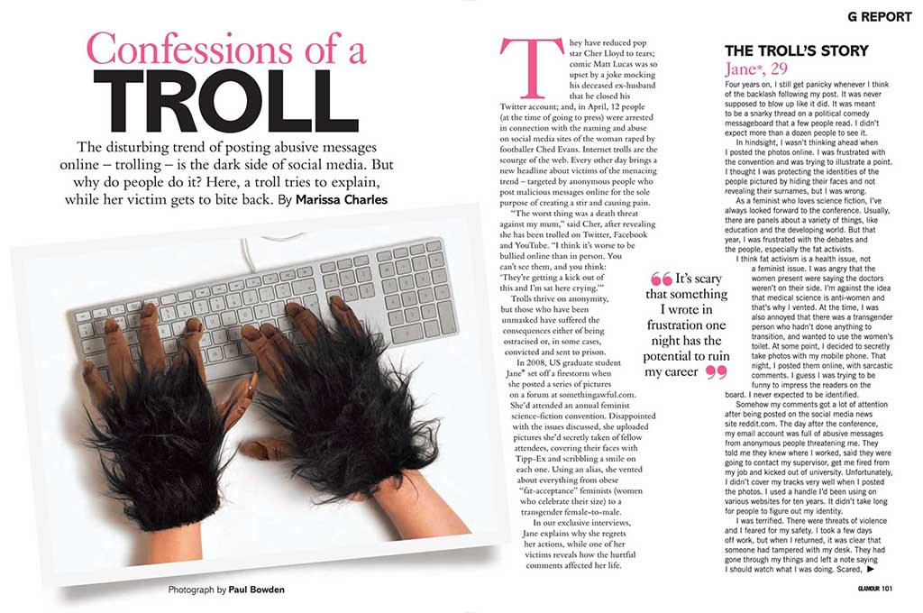 glamour troll feature