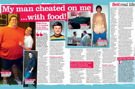 'My man cheated on me…with food!'