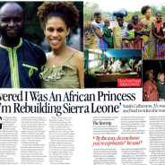 'I discovered I was an African princess'