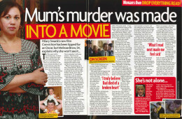 'Mum's murder became a film'
