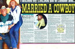 'I married a cowboy'