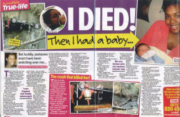 'I died…then gave birth'