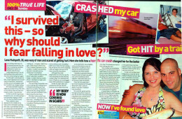 Car crash victim hit by a train falls in love