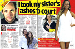 'I took my sister's ashes to court'