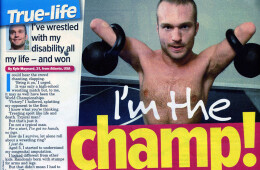 'I've wrestled with my disability all my life'