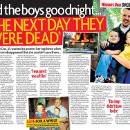 'I kissed the boys goodnight…the next day they were dead'