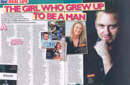 'The girl who grew up to be a man'