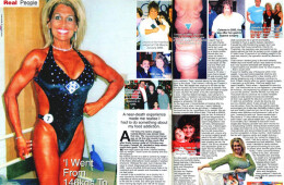 Obese woman sheds the pounds and becomes bodybuilder
